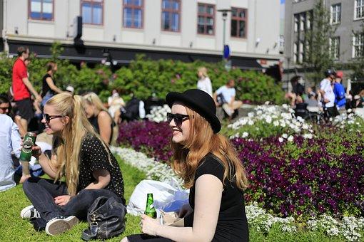 Rejkjavik, The City Centre, Festival