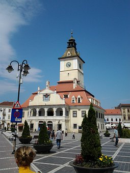 Building, Tower, Architecture, Medieval, Spire, Plaza