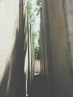 Berlin, Jewish Museum, Stones, Walls
