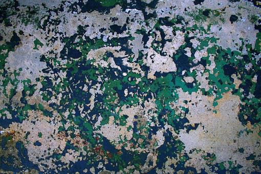 Weathered, Paint, Concrete, Old, Texture, Grunge, Wall