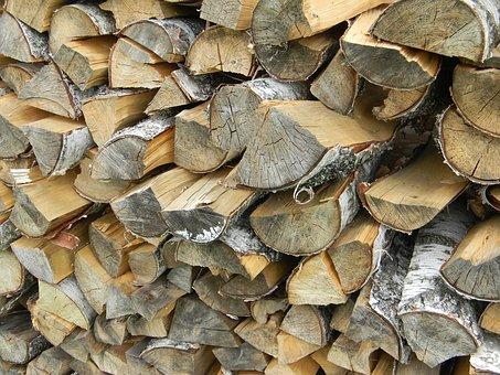 Firewood, Dacha, Wood, Tree, Bath, Splint