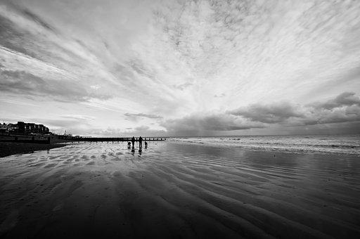Bognor Regis, Beach, England, Sussex, Bognor, Regis