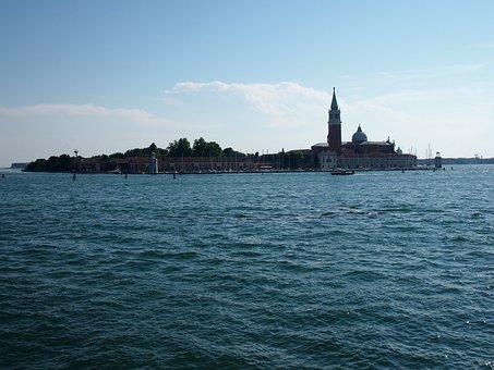 Venice, Italy, Sea, Breeze