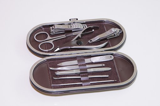 Beauty, Clipping, Delijia, Kit, Manicure, Nail