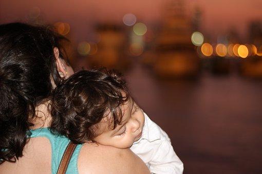 Mother, Baby, Spring, Sleeve, Cartagena