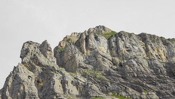 Mountains, Trail, Hiking, Landscape, Switzerland