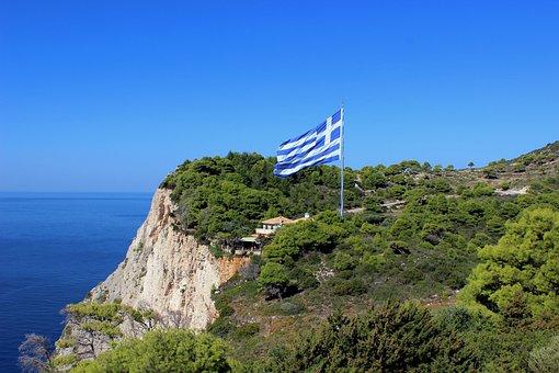 Zakynthos, Greece, Landscape, Sea, Ocean, Water, Scenic