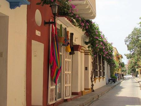 Colombia, Cartagena De Indias, Old, Sunny, Fresh