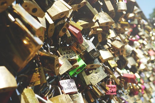 Eternal Love, Locks, Love Locks, Love Symbol, Paris