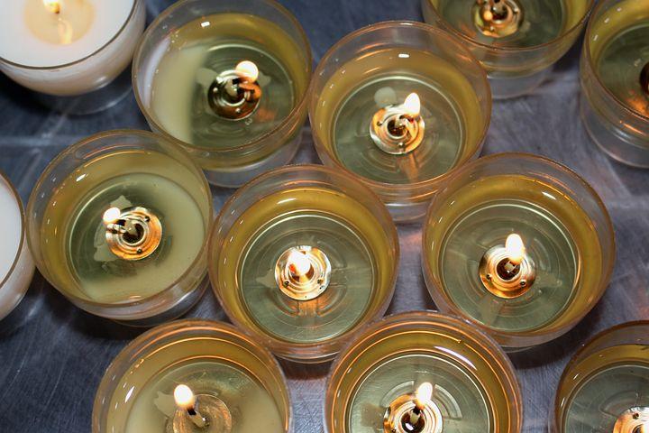 Victim Candles, Candles, Tea Lights, Light, Heat