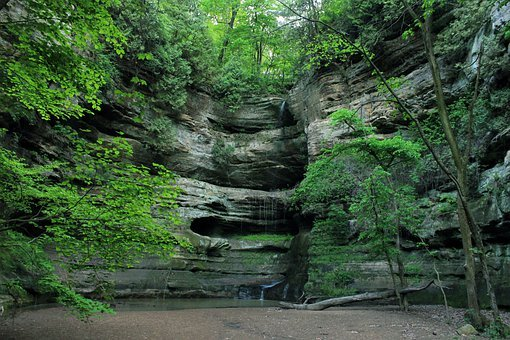 Canyon, Illinois, Starved Rock State Park, Usa