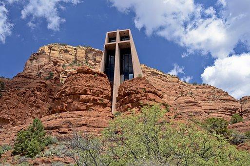 Chapel Of The Holy Cross, Chapel In The Rocks