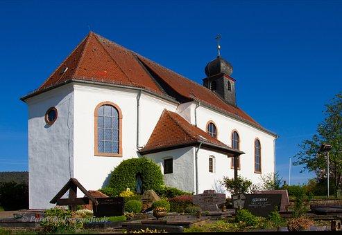 Church, Chapel, Südpfalz, Christian, Building