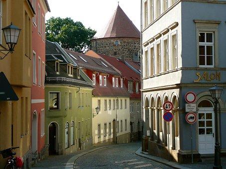 Bautzen, Street, Architecture, City