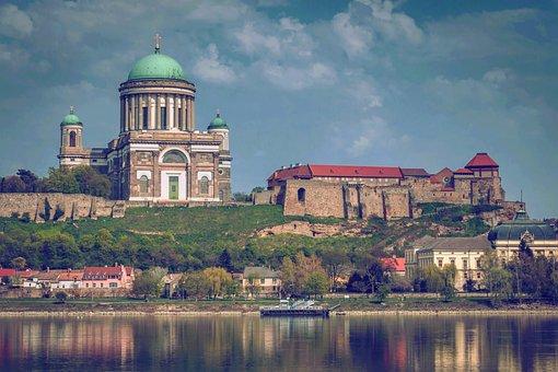 Esztergom, Esztergom Basilica, Danube