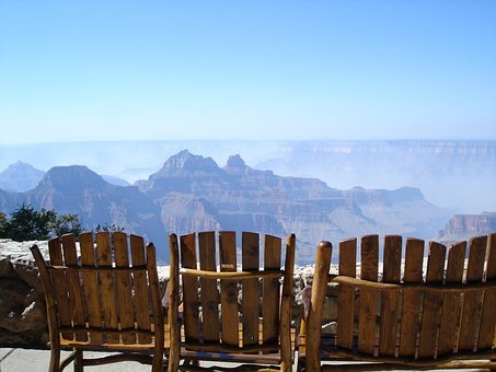 Grand Canyon, North Rim Lodge, Vista, Relax, Chair