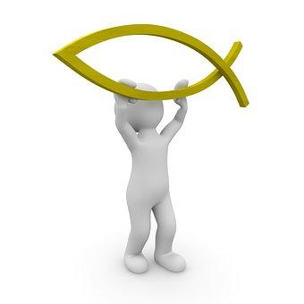 Jesus, Christ, Faith, Religion, Christianity, Fish
