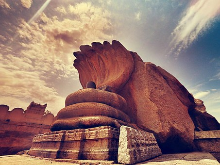 Lepakshi, Andhra, Pradesh, Ancient, Sculpture, Sacred