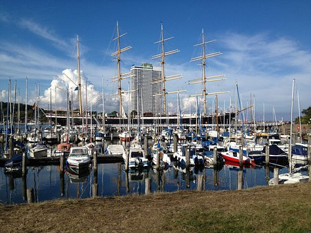 Travemünde, Passat, Museum Ship, Maritime, Hotel