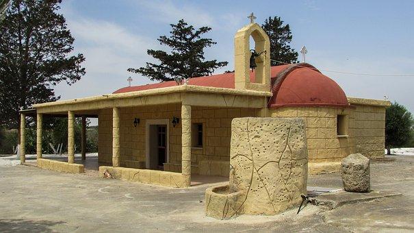 Cyprus, Vrysoules, Church, Ayia Eirini, Orthodox