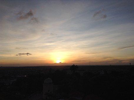 Pernambuco, Olinda, Alto Da Sé, Sunset, Landscape
