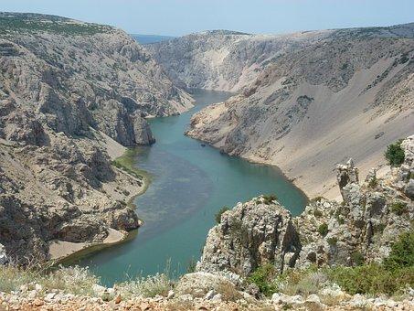 Croatia, Zrmanja, Winnetou, Plateau Of The Pueblo