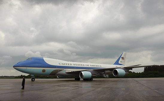 Air Force One, President, United States, Travel, Famous