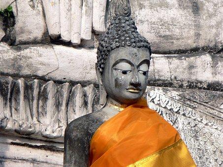 Thailand, Sukhotai, Buddha, Monument, Religion