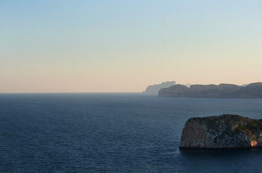 Sea, Cliffs, Rock, Beach, Blue, Sky, Coast, Booked