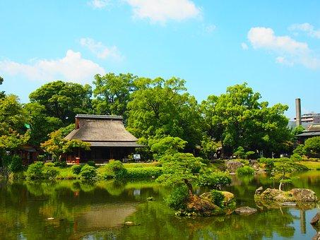 Japan Garden, Japan, Spring Water, Water, Therivers
