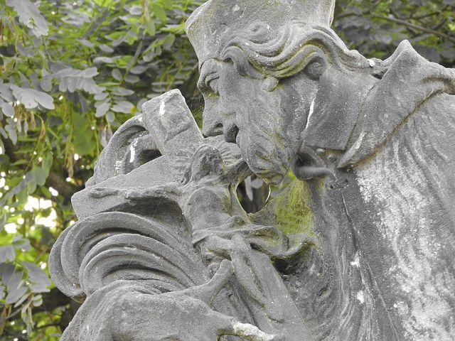 Statue, Stone, Monument, A Saint, Jesus