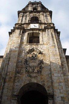 San Pedro De Ariznoa, Bergara, Church, Tower, Steeple