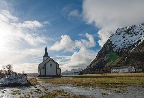 Church, Valberg, Lofoten