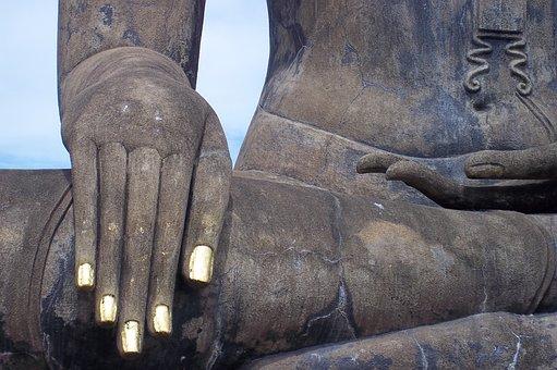 Thailand, Sukkhothai, Buddha