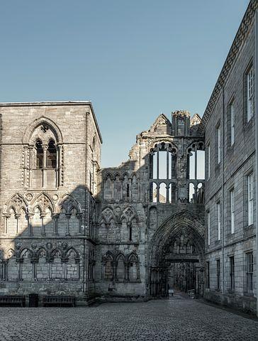 Holyrood Palace, Cathedral, Cathedral Holyrood Palace