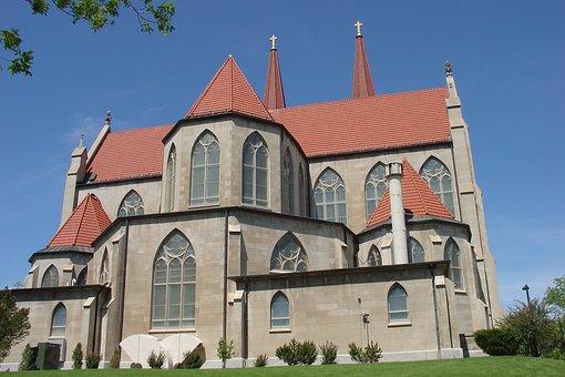 Church, Building, Spire, Steeple, Architecture