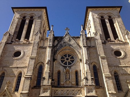 San Fernando Cathedral, Cathedral, Church, Usa, Texas