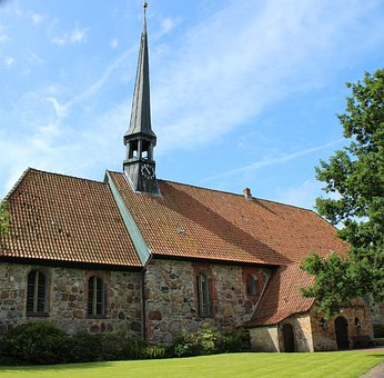 St, Martin, Church, Tellingstedt, Churches, Building