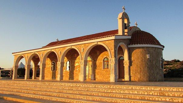 Cyprus, Ayia Napa, Ayios Epifanios, Church