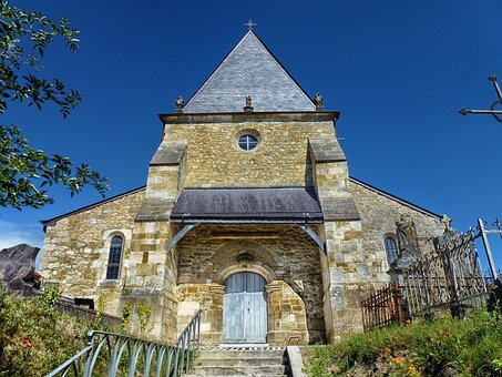 Saint-loup-terrier, France, Church, Building
