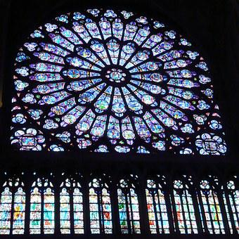 Nagar, Window, Paris, Church, France