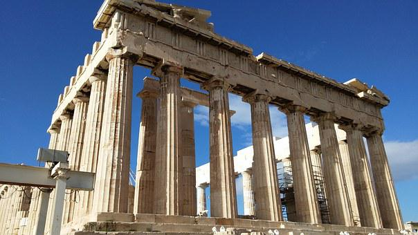 Parthenon, Athens, Greece, Greeks, Ancient, Athena