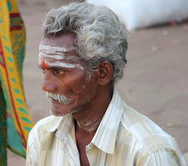 Indians, Man, Tradition, Holy, Hinduism, India