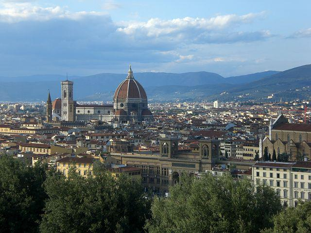 Florence, Italy, Church, Cathedral, Panorama, City
