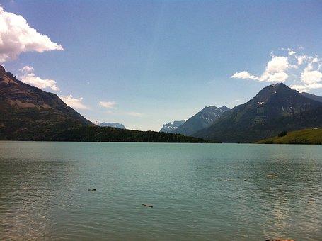 Mountains, Lake, Canada, Waterton, Rockies, Mountain