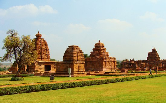 Pattadakal Monuments, Unesco Site, Karnataka, India