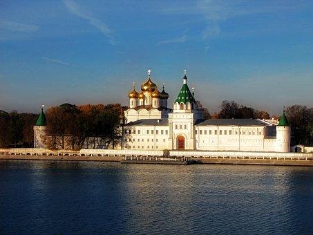 Russia, Kostroma, History, Architecture, Religion
