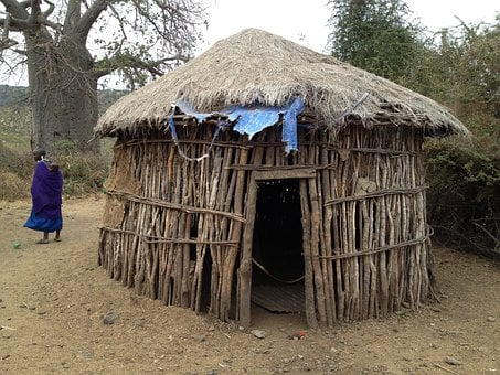 Hut, Dwelling, Africa, Rustic, Travel, Tribe, Rural