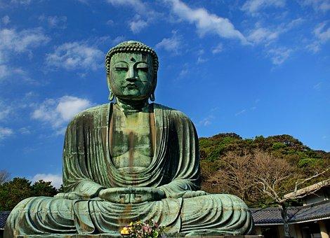 Buddha, Religion, Kamakura, Japan, Spiritual, Buddhist