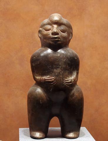 Mexico, Anthropological Museum, Mesoamerica, Statue